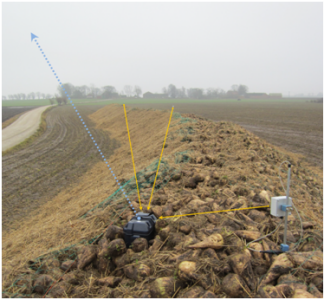 Winter field trials – remote measurement and decision support system